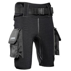 Apeks Tech Shorts Short Neoprene Pants Size XS-XXL