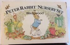 Collectable Peter Rabbit Plate/Cup/Bowl Set by Wedgewood