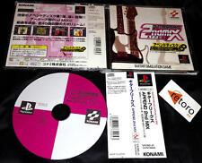 GUITAR FREAKS APPEND 2ND MIX Playstation PSX JAPONES Spine Card Konami Japanese