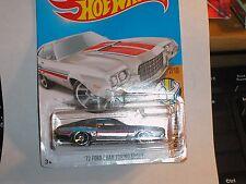 Hot Wheels '72 Ford Gran Torino Sport Zamac  Muscle Mania #122