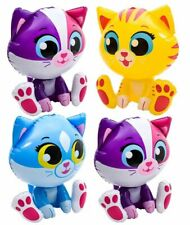 (Set of 4) 24'' Kitten/Cat Meow Inflatable-Inflate Blow Up Toy Party Decoration