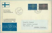 81917 - FINLAND  - Postal History -   FDC COVER  1960 - EUROPA