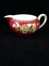 "Vintage Wedgwood Circa 1950'S ""RUBY TONQUIN"" Creamer Rare"