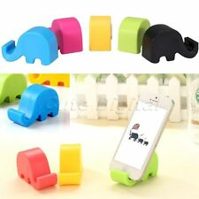 Universal Cute Lovely Elephant Stand Support Mount Holder for Iphone6 Chopstick