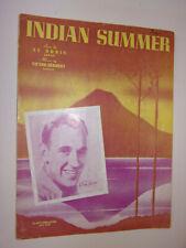 Indian Summer 1939 Al Dubin,  Victor Herbert  photo: Glen Garr IM-HO cover