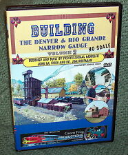 "20107 MODEL RAILROAD VIDEO DVD ""BUILDING THE D&RG VOL.2"" HO SCALE"