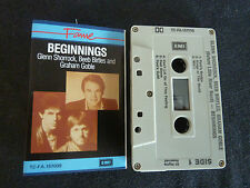 BEGINNINGS ULTRA RARE AUSSIE CASSETTE TAPE! SHORROCK BEEB BIRTLES GRAHAM GOBLE