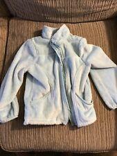 Light Blue Kid's Jacket Children's Place Faux Fur XS/4