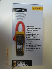 Fluke 375 FC Wireless True RMS AC/DC Clamp Meter New