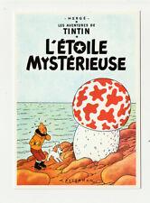 LES AVENTURES DE TINTIN : L'ETOILE MYSTERIEUSE carte postale N° 11 EDITIONS ARNO