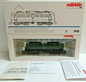 Märklin H0 3439 E-Lok Br 139165-5 DB Delta/Digital #74 Tested Boxed