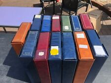 More details for cigarette card storage albums 2nd hand x13 c/w cases standard size