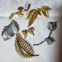 Six Vintage Brooches With Maker's Marks