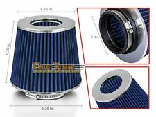 "3"" Cold Air Intake Filter Universal BLUE For B2200/B2300/B2500/B2600/B3000/B4000"