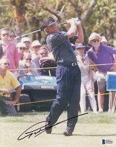 Greg Norman #0  8x10 Signed 8x10 Photo Beckett Certified Golf  061018