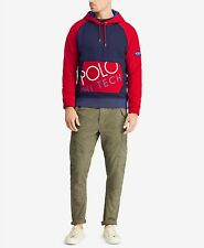 Polo Ralph Lauren Men's Hi Tech Hybrid Hoodie size Large - Retro 90s Inspired