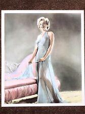 Marilyn Monroe Vintage Print 1990 Hollywood Actress Legend Beautiful Negligee