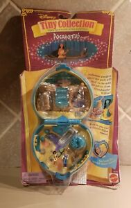 Polly Pocket Vintage! 1995 Disney! Pocahontas Compact Complete Set! Brand New!