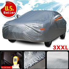 Full Car Cover Dust Waterproof Sun UV Heat Dust Rain Snow All Weather Protection
