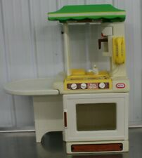 Vintage Little Tikes Party Kitchen Island Sink Stove Phone