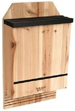 Nature's Way Cwh6 Triple Chamber Cedar Bat House