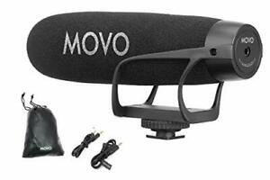 Movo VXR2021 Supercardioid Shotgun Condenser Microphone for Smartphones and DSLR