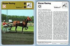 """Bellino II"" - Horse Racing - 1977-9 Sportscaster Rencontre Card"