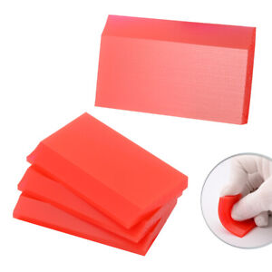 4 Pc Mini Squeegee Small Rubber Scraper for Cleaning Resin 3D Printers SLA PET