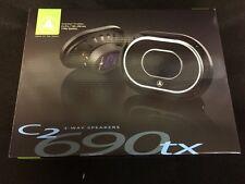 """JL Audio C2-690TX 6x9"""" 250W 3 Way C2 Evolution Car Audio Speakers C2690TX"""