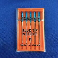 1 set Blue Tip sewing machine Needles JANOME 11