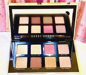 Bobbi Brown Luxe Metal Rose Eye Shadow Palette New in Box Full Size Retail $62