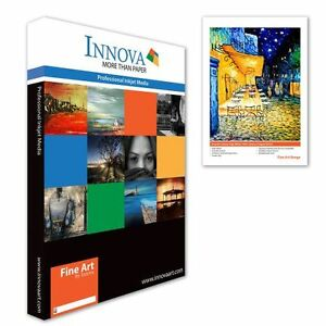 Innova Smooth Cotton High White Matte Inkjet paper 215gsm A4/25 (IFA-04-A4-25)