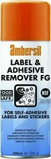 30254 Ambersil sticky Label and Adhesive Remover FG Expiry 05/2025