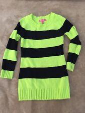 Cherry Stix Girls Medium Long Sleeve Sweater with Scarf