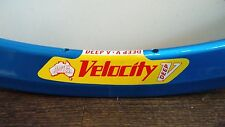 Velocity Deep V Rim 32H Metallic Blue
