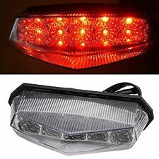 10 LED Motorcycle ATV Dirt Bike Brake Stop Running Tail Light Universal 12V