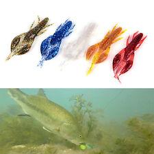 5XFishing Lures 7cm/6g Craws Worm Soft Lures Fishing Soft Bait Shrimp Bass Bait6