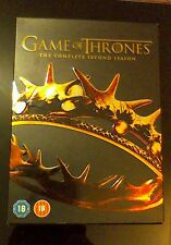 Game of Thrones The Complete Second Season DVD Brand New Series 2