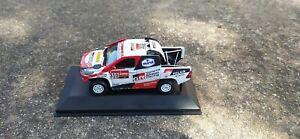 1:43 Transkit Toyota Hilux Fernando Alonso Rally Raid Paris Dakar 2020