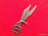 POLISH JUMP WINGS FLYING EAGLE LARGE POLAND MILITARY PARATROOPER SKYDIVER PIN #