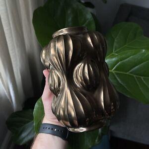 Jonathan Adler Bronzed Balloon Vase