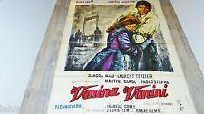 VANINA VANINI ! roberto rossellini   affiche cinema 1961