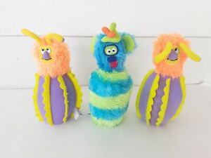 Melissa & Doug Monster Bowling - Lot of 3 Replacement Pins - Plush