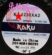 KAKU KA1238XA2 220V 0.15A/0.13A 120*120*38mm Daul ball FAN #M587A QL