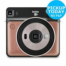 instax Sq 6 Instant Camera - Blush Gold.