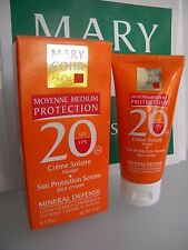 MARY COHR CREME SOLAIRE VISAGE SUN PROTECTION SCREEN FACE SPF FPS 20  PROTEGE