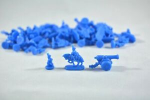 Risk game replacement part pieces - qty 59 blue armies