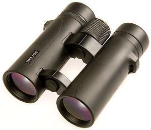New Helios 10x42 Nitrosport Waterproof OH Binoculars + Case *OFFICIAL UK STOCK*