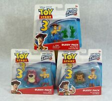 DISNEY/PIXAR TOY STORY 3 BUDDY PACKS WOODY L0TSO MR PICKLEPANTS MORE