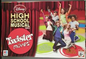 2007 Disney High School Musical Edition Twister Moves Age 8+ Excellent Condition